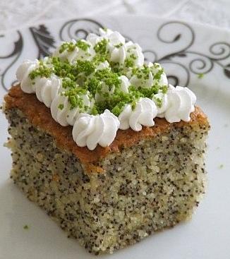 Haşhaşlı kek Haşhaşlı Kek Tarifi